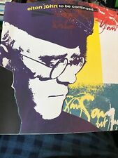 Elton John To Be Continued... Book 4CD Box Set (Book Only) BOOK