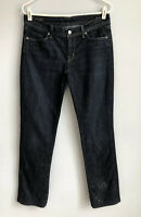 CITIZENS OF HUMANITY Size 30 Ava Low Rise Straight Leg Jeans Dark Wash
