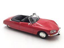 citroen ds 21 cabriolet  1/43  les voitures françaises norev n98/135+ fascicule