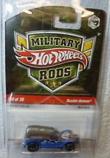 2009 MILITARY RODS HOT WHEELS DOUBLE DEMON #16 /26 In Protector!