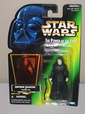 Kenner Star Wars Power of the Force EMPEROR PALPATINE with Walking Stick Figure