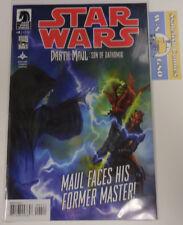 Star Wars DARTH MAUL : SON OF DATHOMIR Comic # 4 Dark Horse RARE