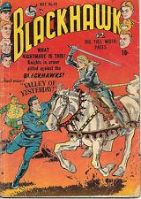 Blackhawk Comic Book #40, Quality Comics 1951 GOOD+