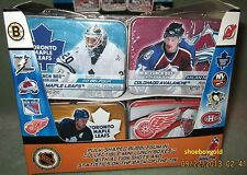 MINI LUNCH BOXES NHL Hockey Assortment, Factory-Sealed Tins