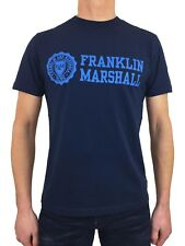 Franklin and Marshall Mens Classic TSMF356ANS18 Jersey T-Shirt in Navy