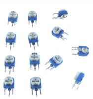 100pcs Smd 20k Ohm 3x3 potenciómetro Trimmer resistor evm3esx50b24