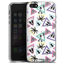 Apple iPhone 5 Silikon Hülle Case - Soy Luna Dreiecke
