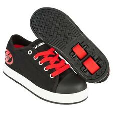 Heelys Fresh Black Red Kids Skate Skating Shoes UK Size 12 Junior RRP 99