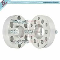 6x5.5 to 6x120 1.5 inch Fits GMC Canyon Chevy Colorado (2) Wheel Spacers 14x1.5