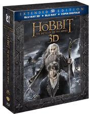 Lo Hobbit Extended Ausgabe 3D - die Schlacht der 5 Bundeswehr (5 Blu-Ray 3D+2D)