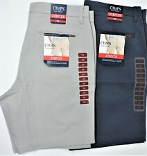 Chaps Men's Flat Front Stretch Twill 9
