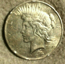 1922 US PEACE 90% SILVER DOLLAR COIN LIBERTY $1 OLD MONEY CURRENCY CIRCULATED