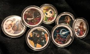Zelda: Breath of the Wild amiibo coins with case