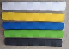 25x CHEVRON Cricket Bat Grips - YELLOW, BLACK, BLUE, WHITE & FLURO GREEN