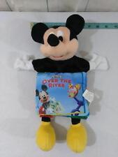 Mickey Mouse Clubhouse Book Plush Puppet Senario Disney Ships FREE