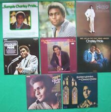"""8 CHARLEY PRIDE Vinyl 12"""" LP's.You're my Jamaica,Roll on Mississippi,Sample Cha"""