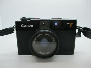 Canon A35F 35mm Rangefinder Point & Shoot Film Camera A35 F