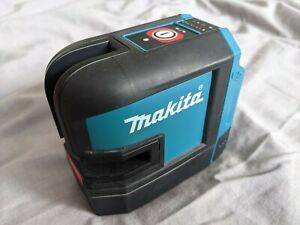 Makita SK105 10.8- 12v CXT Red Self Leveling Cross Line Laser Level