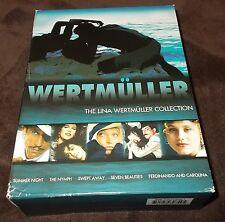 Lina Wertmuller Collection (DVD, 2005, 6-Disc Set) RARE OOP Giancarlo Giannini