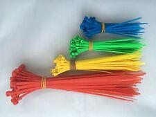 Collier de Serrage Nylon Type Colson Rilsan - 200 Pièces - 4 Tailles
