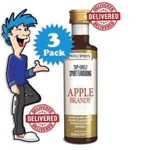 Apple Brandy Spirit Essence x 3 @ $33.99 By Still Spirits Top Shelf