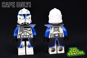 for LEGO Star Wars Minifigure Phase 2 Captain Rex Custom Cloth Cape Clone Wars