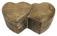 Herz Dose Schatulle Doppelherz Magic Box Aufbewahrung Schmuck Hochzeit Geschenk*