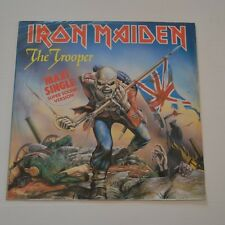 """IRON MAIDEN - THE TROOPER - GERMANY 12"""" SINGLE """"SUPER SOUND VERSION"""""""