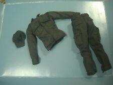 "Hot Toys Secret Service ERT 1/6 Scale MALE shirt+pant+cap for 12"" figure use"