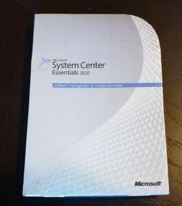 MICROSOFT SYSTEM CENTER ESSENTIALS 2010 BRAND NEW UCH-01979