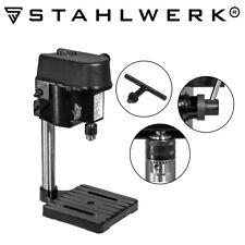 STAHLWERK Mini Tischbohrer Säulenbohrmaschine Standbohrmaschine 100W 4700 U/min