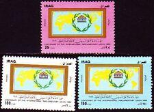 Irak Iraq 1989 ** Mi.1490/92 Interparlamentarische Union IPU
