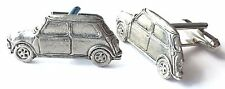 Mini Clubman Classic Car Hand Made Pewter Cufflinks (N310) Gift Boxed