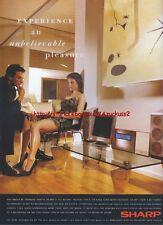 Sharp 1-Bit Audio 2001 Magazine Advert #3093