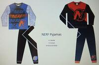 NEU HASBRO NERF Jungen Pyjama 2tlg Schlafanzug 104 110 116 122 128 140