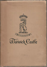 OLD WARWICK CASTLE GUIDE - 1951 - description, history, art - 12 photographs