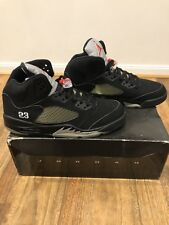 Nike Air Jordan 5 V Metallic Black 2006 DS Size 13