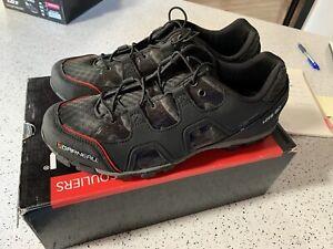 Louis Garneau Men's Cycling Shoes Escape 44 EU 10.5US 9.5UK Spin/Mtb/commute New