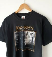 VTG LORD OF THE RINGS The Two Towers MOVIE 2002 Promo T SHIRT *Rare Mordor Med