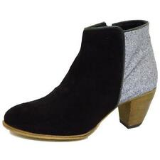 Unbranded 100% Leather Cuban Heel Boots for Women