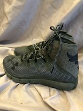 Under Armour Mens UA Project Rock Delta Training Shoe Green The Rock Size 7.5