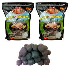BBQ Charcoal Briquettes - CRAZY OFFER - 2 X 3.5KG (7KG) PENBEAD Bags