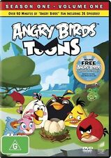Angry Birds Toons : Season One Vol 1 (Dvd) Family Kids Comedy Children Animation