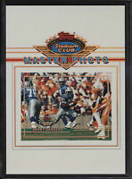 1993 Topps Stadium Club 5x7 Master Photo Barry Sanders Detroit Lions
