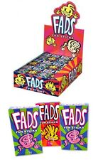 Bulk Lot 48 x Fads Fun Sticks Packs 15g Candy Lolly Buffet Sweets Party Favors