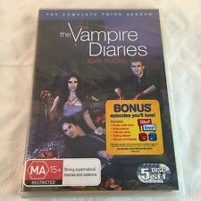 The Vampire Diaries Completed Third Season 3 S3 5 Disc Set DVD R 4 Track