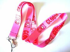 GLOOMY BEAR LANYARD kawaii bloody pink morbid japan neck strap ID tag badge Z1