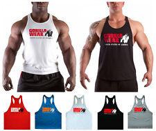 Academia Masculino Musculação Regatas Fitness Inteiro Singlet Stringer Y-back Colete muscular