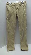 Aeropostale Skinny Twill Pant Khaki Size 000 Regular/Normal