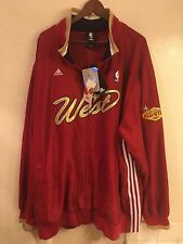 NWT Authentic Adidas 2007 Las Vegas NBA All-Star Game West jacket (size: 4XL)